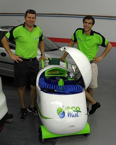 eco wash machine