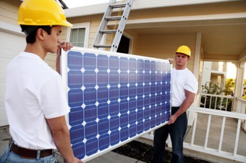 Solar Training - A renewable energy job for the future