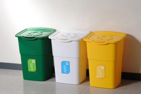 Recycling tips for waste disposal and reduction - Recycle containers for home use ...