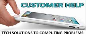customer help technical computer support tutorials solutions faqs