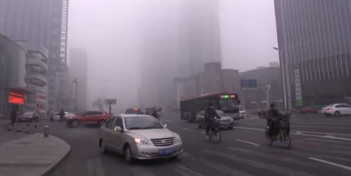 Largest Polluter in the World Tries to Reduce Air Pollution by Controlling the News Related to Smog