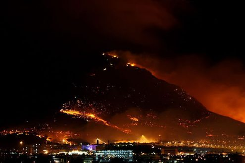 Wildfires in the Western Cape of South Africa - Prevention is Crucial