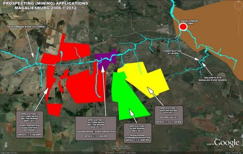 Magaliesburg Gold Mining | Prospectors are back with Applications in Koesterfontein & Golden Valley