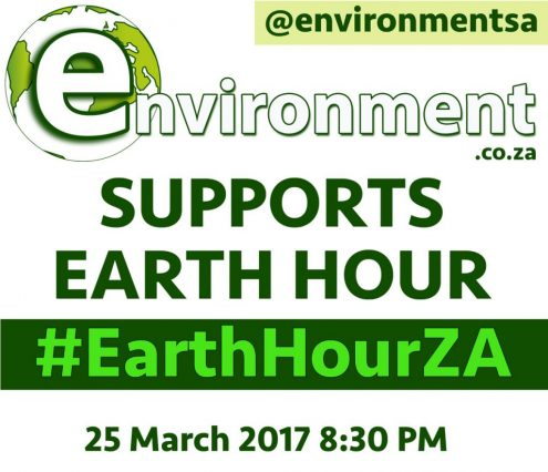 Earth Hour South Africa #EarthHourZA - Switch OFF and Show Support